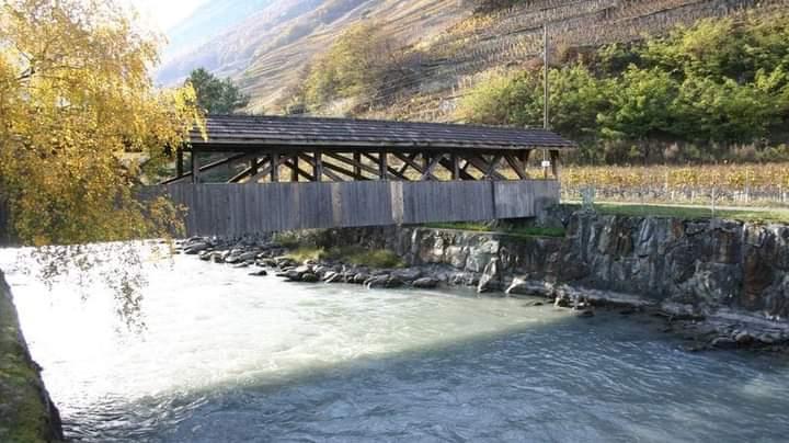 La Dranse, rivière emblématique de Martigny